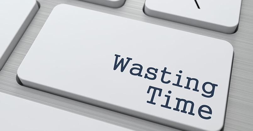 Os 7 Maiores Desperdiçadores de Tempo no Trabalho