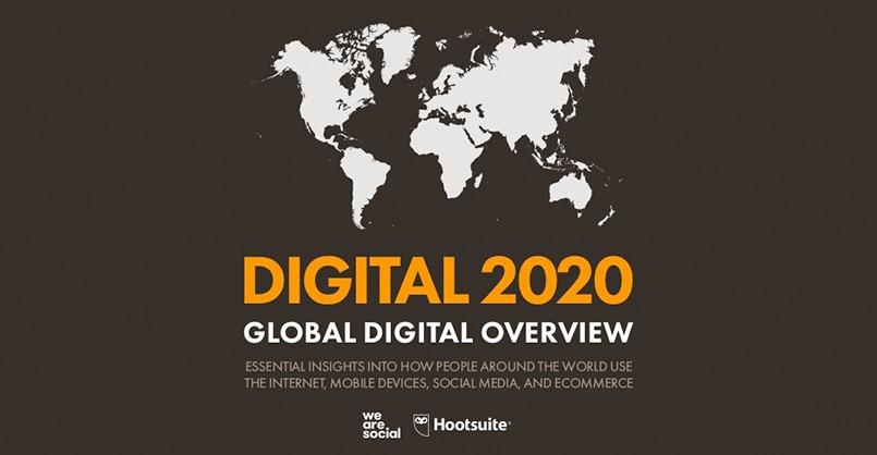 TENDÊNCIAS DIGITAIS 2020: Todas as estatísticas que precisas conhecer sobre a internet